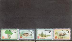 MALAWI 570-573 MNH 2014 SCOTT CATALOGUE VALUE $19.75