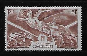 Guadeloupe C3 1946 WWII Victory single MNH