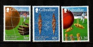 Gibraltar #817-819  Mint  Scott $6.00