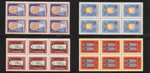 Lot of 32 Mongolia MNH Mint Never Hinged Stamps Scott 304-307 8 sets #145466 F