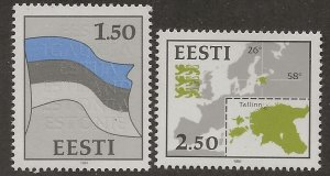 Estonia  SC #  209 - 10  MNH