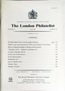 INDIAN MAILS 1814-19 Administration of the PACKET SERVICE and its Demise