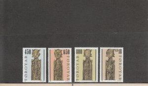 FAROE ISLANDS 389-392 MNH 2014 SCOTT CATALOGUE VALUE $9.45