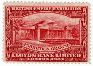 (I.B) Cinderella - British Empire Exhibition : Lloyds Bank