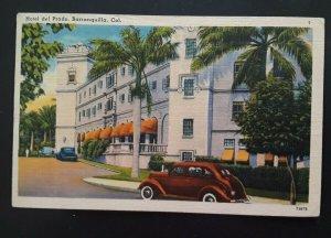 1947 Barranquilla Colombia To Mt Vernon NY Hotel del Prado Illustrated Cover