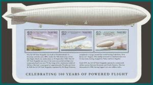 Nauru 2003 Powered Flight, MS, MNH 519,SGMS579