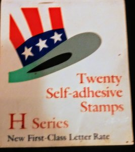 USA 3266 H series uncle Sam's Hat Booklet of 16