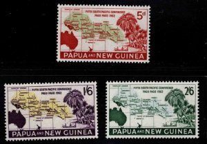 Papua Scott 167-1698 MNH**  1964 Pago Pago conference stamp set
