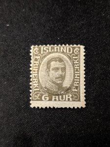 Iceland 113 F-VFNH, CV $45