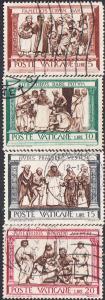 Vatican #284-291 Used Set