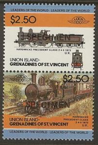 St. Vincent Grenadines Union Island Specimen MNH SC 56