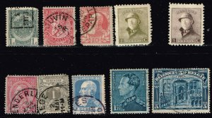 Belgium Stamp USED STAMPS COLLECTION LOT