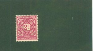 FRENCH WEST AFRICA J19 MH BIN$ 1.60