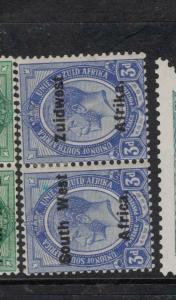 South West Africa SG 32 Setting VI MOG (8dwc)