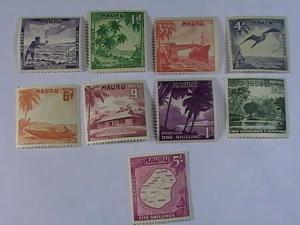 NAURU # 39-47-MINT/NEVER HINGED-COMPLETE SET----QEII----1954