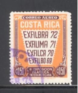 Costa Rica Sc # C541 used (DT)