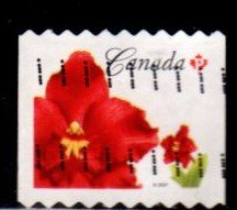Canada - #2244 Red Orchid Coil - Used