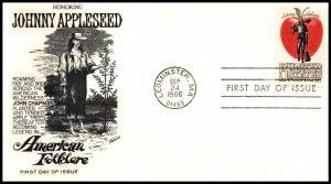US 1317 Johnny Appleseed Fleetwood U/A FDC