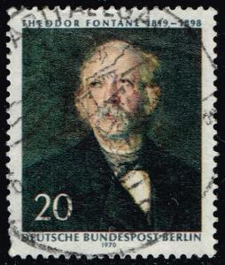 Germany #9N282 Theodor Fontane; Used (0.30)