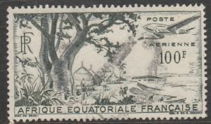 Afr. Equ. Fr.  1946  Scott No. C32  (O)  Poste aérienne