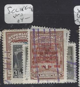 HONDURAS  (PP0401B)  SC C188-196      VFU