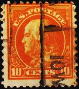 U.S.A. 1912 10c S.G.517 Fine Used