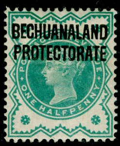 BECHUANALAND SG60, ½d blue-green, M MINT.