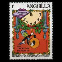 ANGUILLA 1983 - Scott# 547 Disney 1c NH