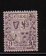 Ireland Sc 74 1922 9d Arms stamp  used
