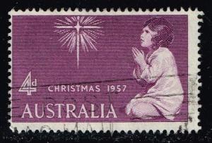 Australia #307 Christmas; used (0.25)
