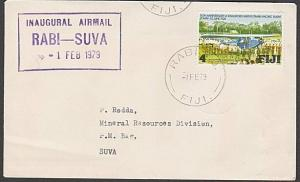 FIJI 1979 First flight cover Rabi to Suva..................................54492