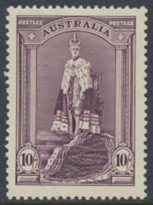 Australia SG 177 MLH  SC#178 1938 Coronation Robes  - please see scans details