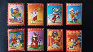 Disney - Turks & Caicos Islands 1996. - Christmas ** MNH complete set