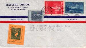 Cuba 1c Proposed Communications Building Postal Tax, 2c General Collazo and 1...