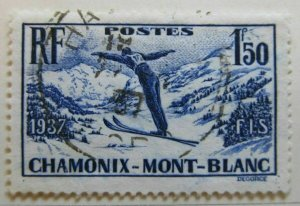 A8P6F89 France 1937 1.50fr used