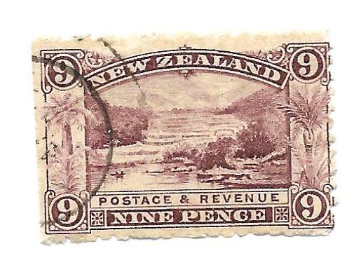 New Zealand 1898 - Used - Scv $42.50 - Scott #80