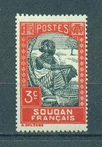 French Sudan sc# 63 mh cat value $.25