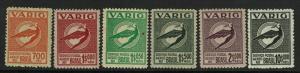 Brazil SC# 3CL16 - 3CL22 Mint Never Hinged / $1.5 w/ Dot - S7174