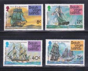 Virgin Islands 309-312 Set MNH American Bicentennial (D)