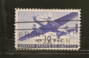 USA C27 Airmail Used