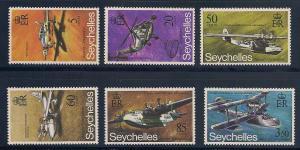 Seychelles 285-290 Mint VF NH