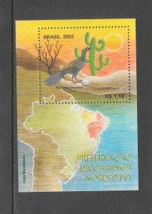 BIRDS - BRAZIL #2849  MNH