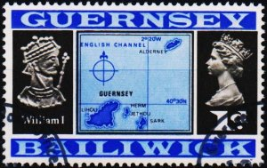 Guernsey. 1969 1d S.G.14 Fine Used