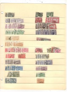 AUSTRIA COLLECTION ON STOCK SHEET, MINT/USED