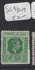 LEEWARD ISLANDS (P1710B) KGVI   1/2D   SG 96  MOG