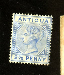 Antigua #14 MINT F-VF OG HR Cat $ 8.00