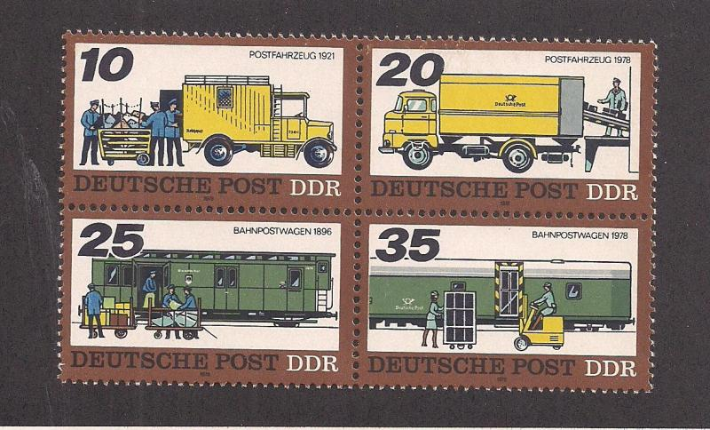 GERMANY - DDR SC# 1890a F-VF MNH 1978