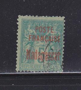 Malagasy Republic - Madagascar 14 U Navigation And Commerce