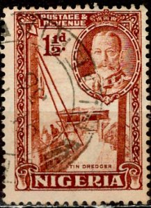 Nigeria; 1936: Sc. # 40a: O/Used Single Stamp