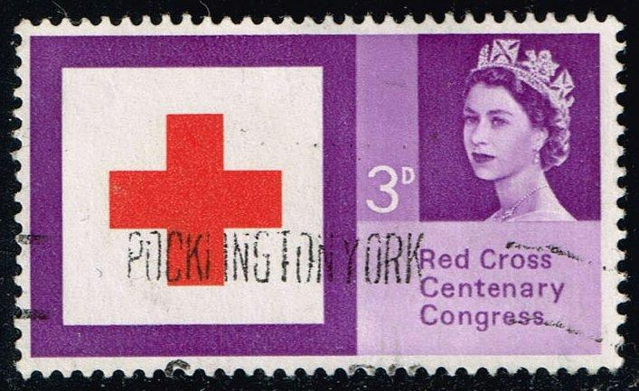 Great Britain #398 Red Cross; Used (0.25)